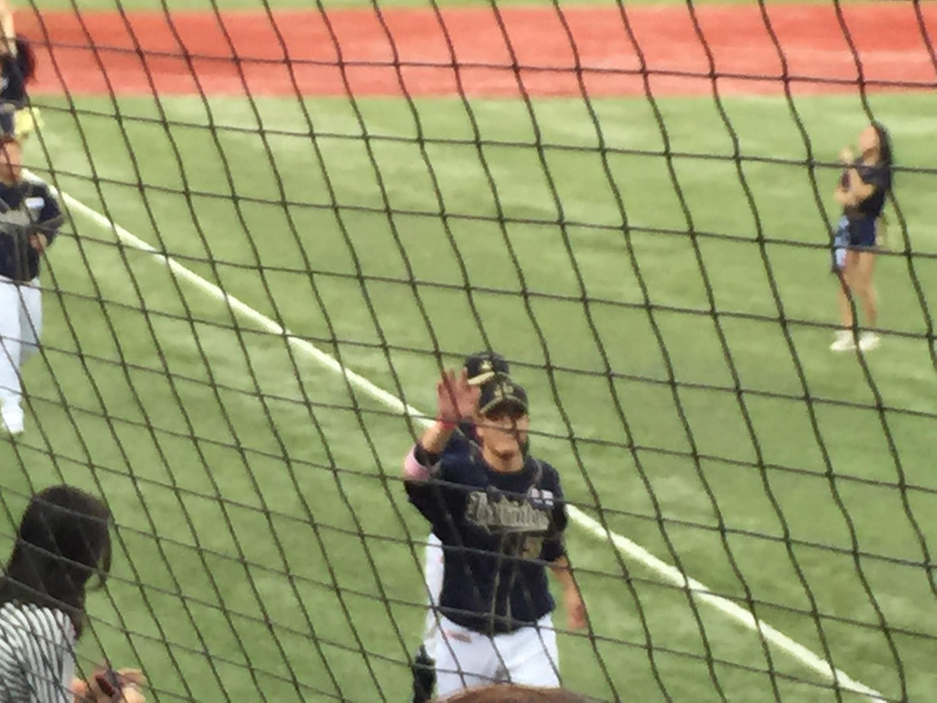 2015年5月10日 オリックス 対 北海道日本ハム 西今季初勝利