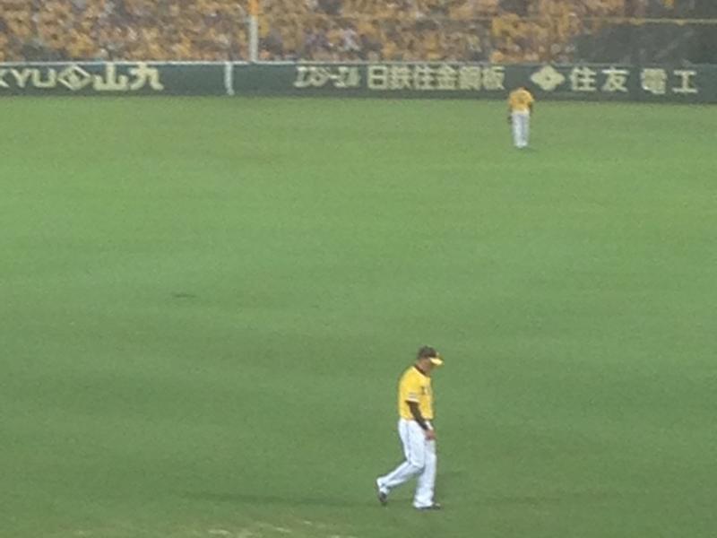 2015年7月25日 阪神 対 横浜DeNA ウル虎の夏2015 Joshinプレゼントナイター