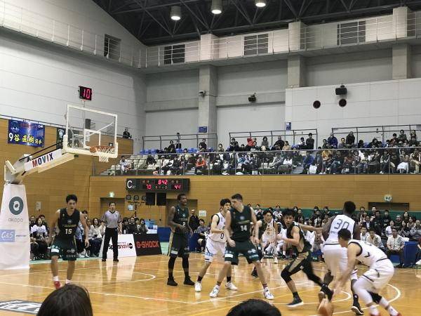西宮ストークス vs 琉球ゴールデンキングス