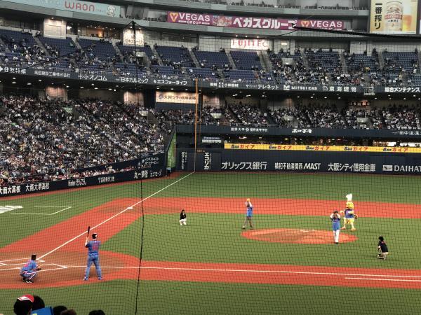 オリックス vs 埼玉西武