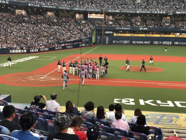 オリックス vs 福岡ソフトバンク