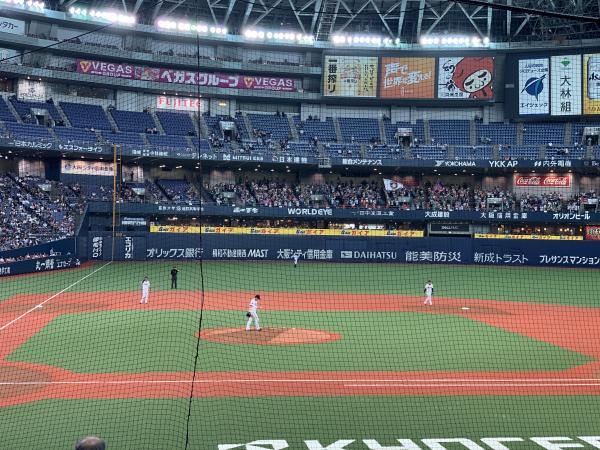 オリックス・バファローズvs北海道日本ハムファイターズ オリ姫×デサントスペシャルゲーム Bsオリ姫デー