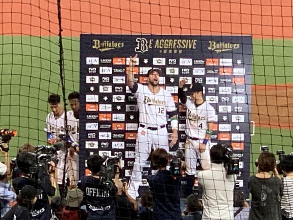 オリックス・バファローズvs福岡ソフトバンクホークス
