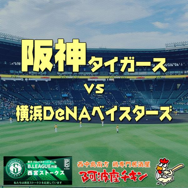 阪神タイガースvs横浜DeNAベイスターズ