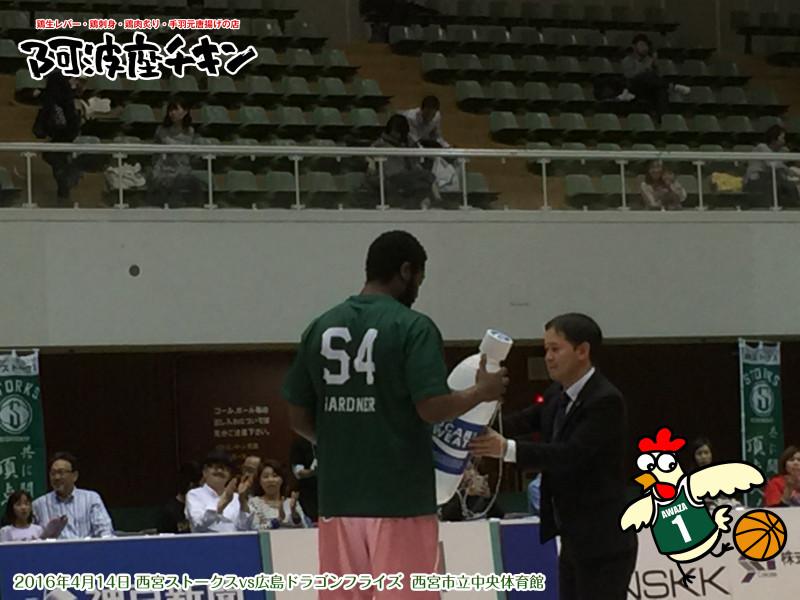【ポカリスエット NBL 月間MVP】#54 ダバンテ・ガードナー選手、3月月間MVPを獲得!!